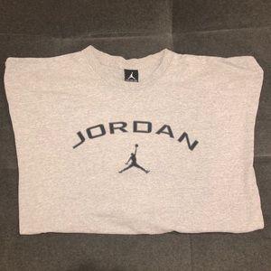 Jordan long sleeve cotton blend shirt XXL